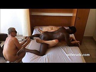 Masked hotwife fucks hubby films wifecuck com