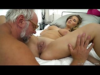 Chubby babe on grandpa dick aida swinger
