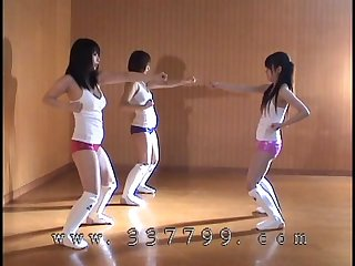 Japanese mistress us kick the ball of slave