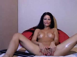 Brunette Milf Squirt on Webcam check for more at 69porncams com