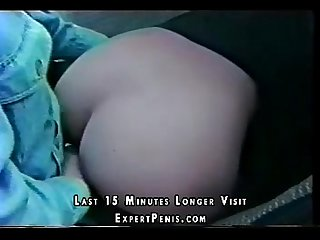 Asian student girl fuck in a car