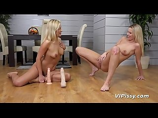 Lesbian piss drinking bianca ferrero and nikki dream get showered in pee