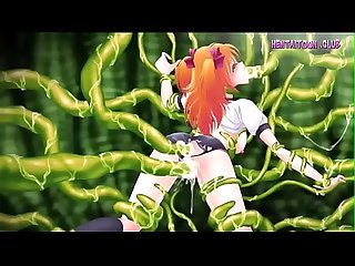 Uncensored at www hentaitoon club small anime girl fucked by huge tentacles