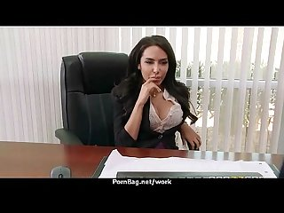 Office slut gets a good fuck to release stress 9