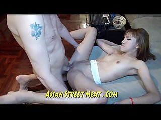 Dancing thai in black pants