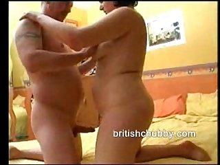 British chubby amateur fucking at home