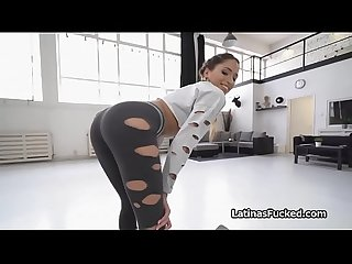 Assy oily Latina twerks and fucks