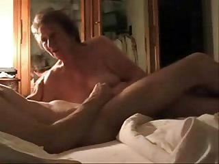 Caught my mum having fun with her younger lover hidden cam