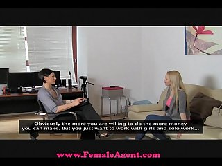 Femaleagent big breast casting