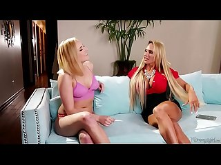 Stepmommy licks her daughter S pussy kate england tegan james