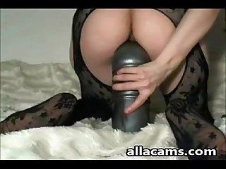 Anal toy gape fist