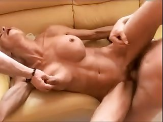 Hottest granny fucks two guys