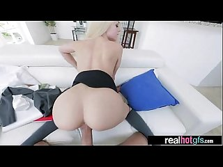 (elsa jean) Gorgeous Girlfriend Perform Hard Style On Tape movie-14