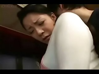 japanese son forced her mom in kitchen to sex here is the complete video..
