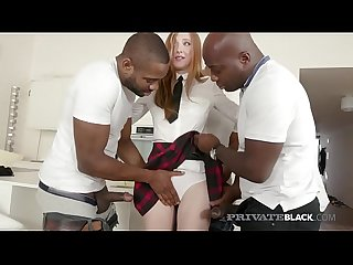 Privateblack school girls Linda sweet fuck double anal