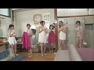 41Ticket - Old Guy Stops Time and Fucks Frozen Babes in Spa (Uncensored JAV)