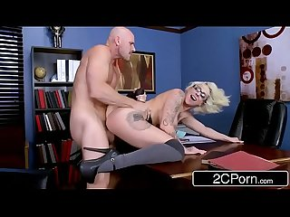School girl harlow harrison is Dean S personal slut