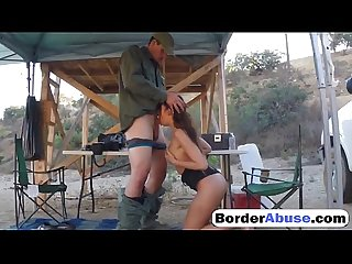 BorderAbuse-20-07-2016-Nasty-border-patrool-surveys-pretty-brunette-with-great-deliberation-720p-1