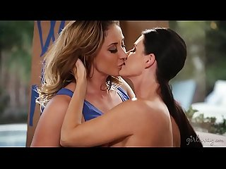 India Summer and Eva Notty celebrate their engagement