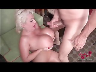 Hot milfs get cummed on pt 1