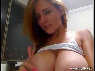 Big ass big tits amazing sexy body webcam german girl show