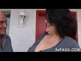 Dark chubby wench fucked