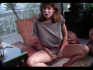 Christy Canyon watches Rikki Blake Fuck A Guy