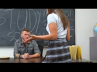 Brutal teen Fucked by horny teacher