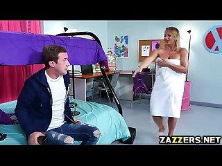 Cali Carte sucks Jessy Jones big cock he is her roommates boyfriend