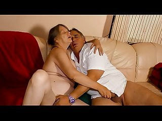XXX OMAS - Naughty German granny enjoys hot hard fuck and mouth creampie