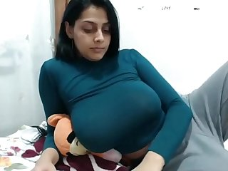 Big tit indian on cam having orgasm hard www period thesluttycams period com