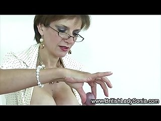 Lady sonia waxes bdsm cock