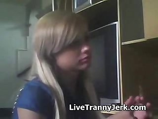 Petite teenage girl suddenly pulled out a cock