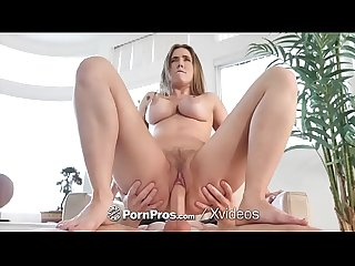 Pornpros soaking wet pussy pounded with lena paul