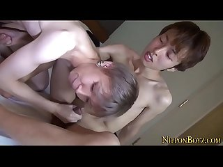 Gay japanese twinks suck