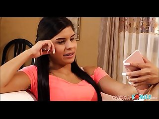 Tiny Latina Teen Stepsister With Braces Katya Rodriguez Caught And Fucked By Brother