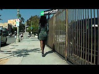 Red hot ebony tgirl nicole starr jerking