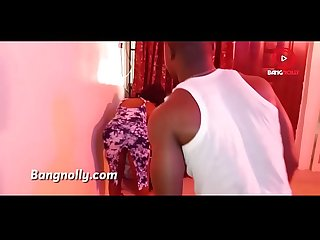 Oga bang fucked his ebony sweet Neighbor creamy juicy pussy bangnollyytv