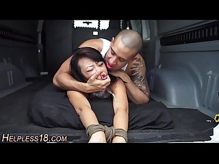 Asian Teen bdsm fucked