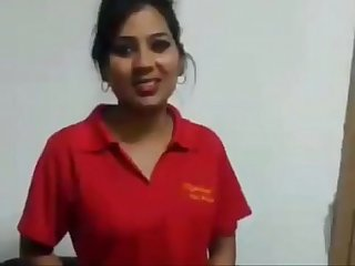 Sexy indian girl strips for money