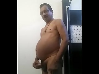 Indian uncle masturbate