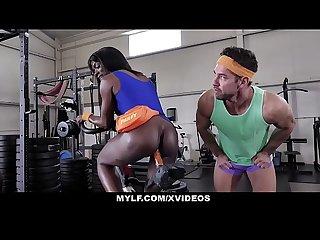 MYLF - Lucky Stud Slams Anna Foxxx�s Cunt