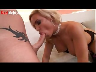 Porn Star Diamond Foxxx, a hot MILF at web cam