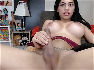 Beautiful shemale with an even more beautiful cock