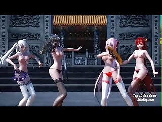Hentai Big Tits Group Sexy Dance