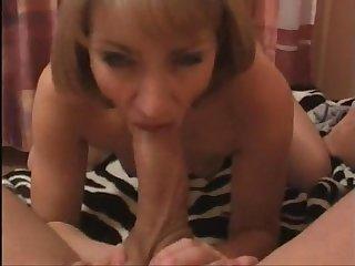 Trisha milf deepthroat huge cock