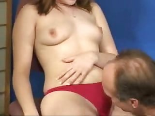 Voyeur Sex of Old teacher with young russian redhead Teen schoolgirl