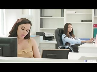 GIRLSWAY - Secret relationship on the workplace - Whitney Wright and Eliza Ibarra