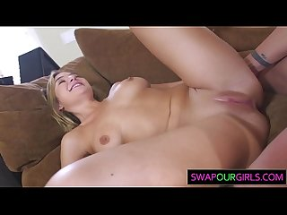 Blair williams takes a stepdad pounding