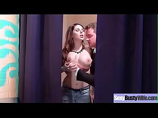 Hardcore Sex Tape With Horny Big Boobs Hot Wife (Darling Danika) movie-07